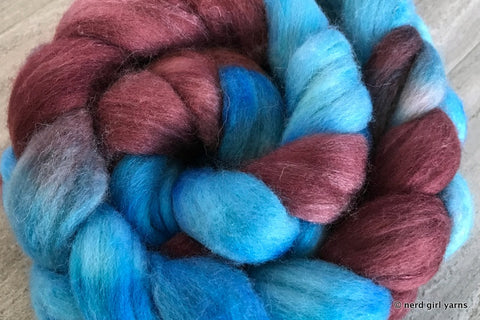 Polwarth/Silk 85/15 Combed Top In Stock