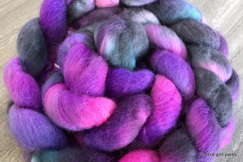 Merino/Silk 80/20 Combed Top In Stock