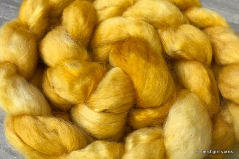 Loyal & Just - BFL/Mohair 70/30 Combed Top In Stock
