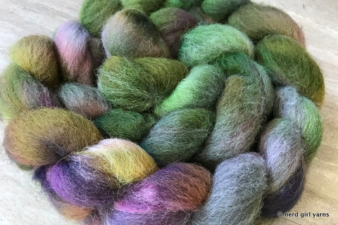 R.V. -  100% Jacob Wool Combed Top In Stock