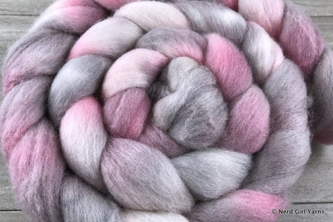 Demogorgon - Polwarth/Silk 85/15 Combed Top In Stock