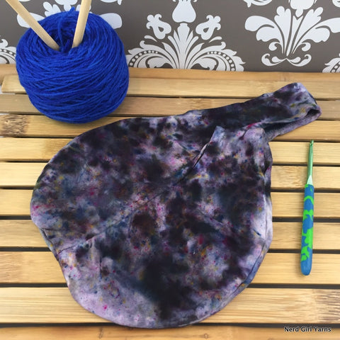 Hand Dyed Project Bag