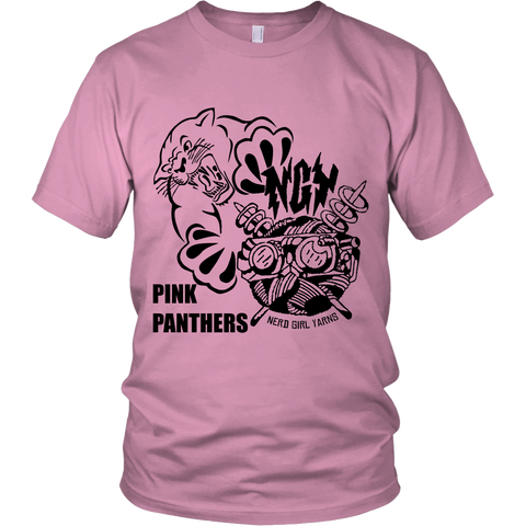 Pink Panthers Team Booster T-shirt & Hoodie (pink)