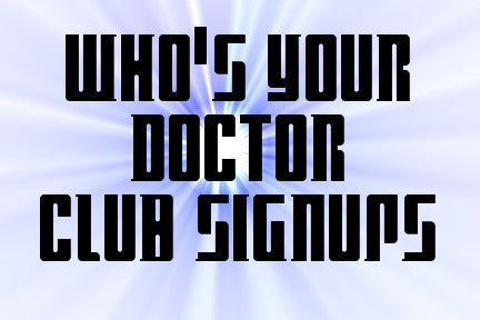 Who's Your Doctor - Fiber Club Summer 2017 Round