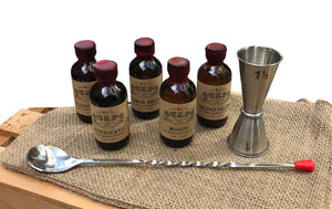 Craft Cocktail Mixers Gift Set