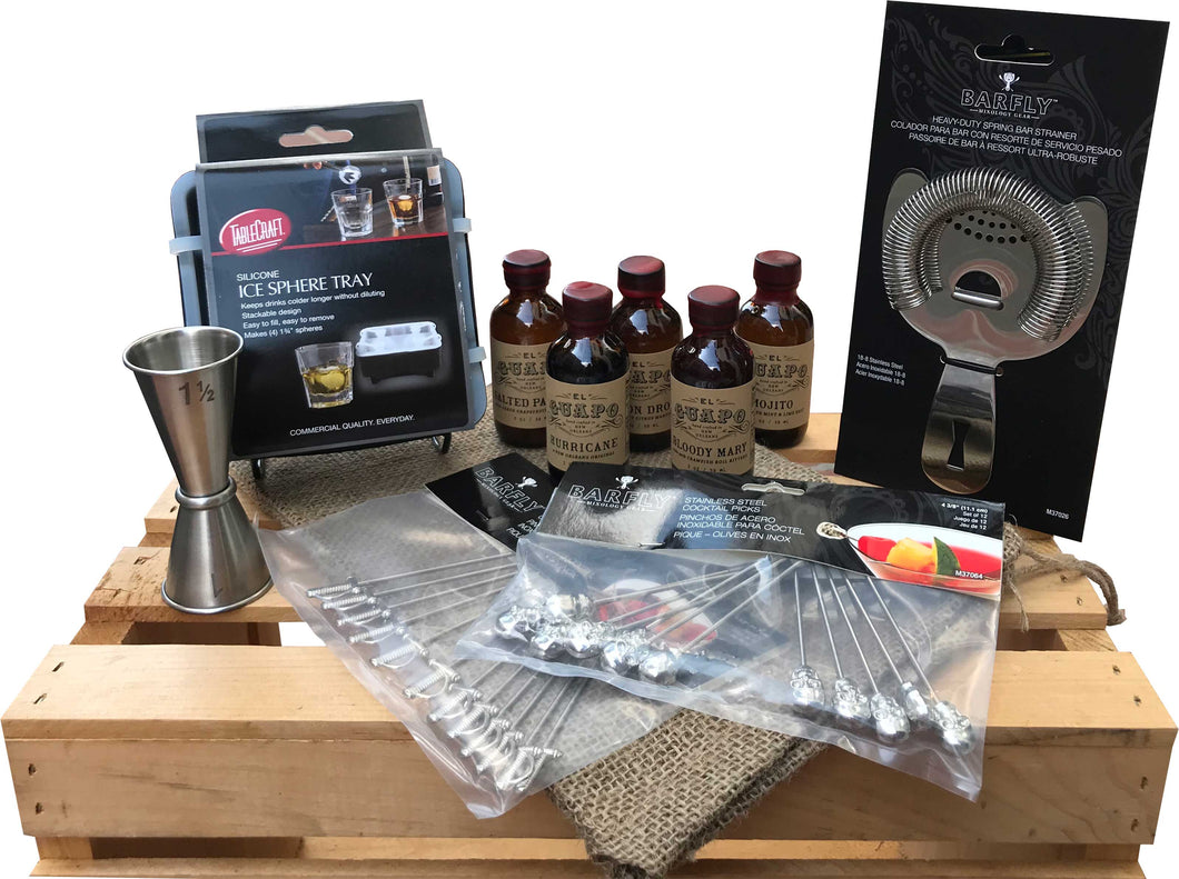 The Dapper Bartender Gift Set
