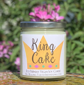 Healing Earth Intentions Candles: New Orleans Dessert Scents