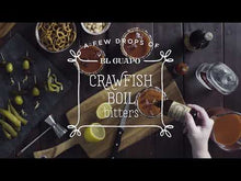 Load and play video in Gallery viewer, El Guapo Crawfish Boil Bitters