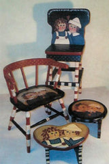 RAGGEDY ANN AND ANDY SMALL TABLE