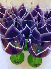 BACHELORETTE WINE GLASSES 6 GLASSES
