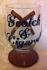 CIGARS & SCOTCH! CUSTOM ORDER