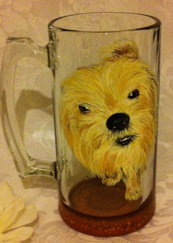 PET PORTRAIT WINE GLASS