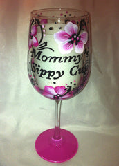 MOMMY'S HIBISCUS SIPPY CUP
