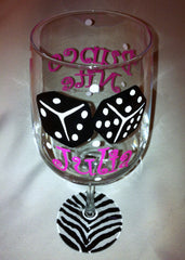 BUNCO NITE WINE GLASS