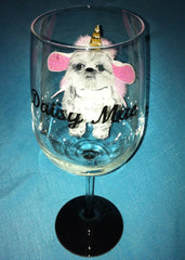 PET COSTUME WINE GLASS