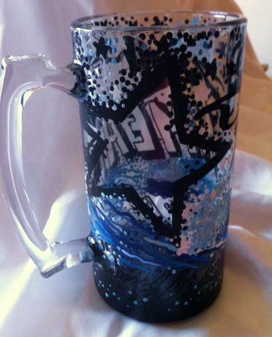 PERSONALIZED TATTOO BEER MUG
