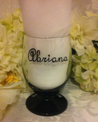 JR BRIDESMAID STEMLESS GLASS