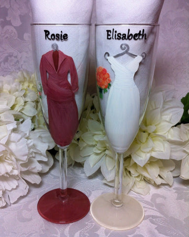 BRIDE & MOTHER OF THE BRIDE FLUTES