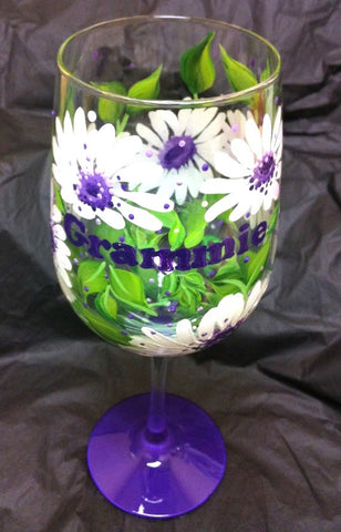 GRAMMIE WHITE DAISY SIPPY CUP
