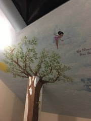 Nursery Room Mural Custom Design