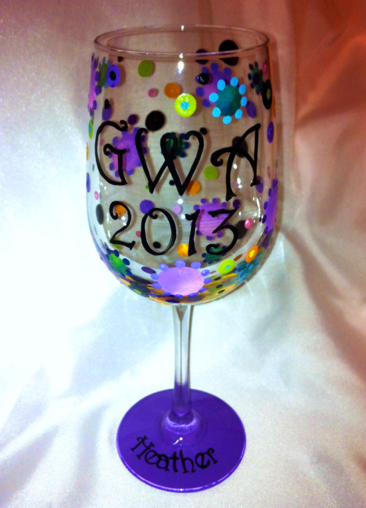 GIRLS  WEEKEND  AWAY  WINE  GLASSES 4 GLASSES