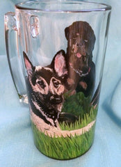DOUBLE TROUBLE DOG MUG
