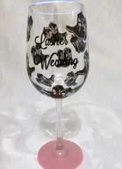 Copy of CUSTOM DESIGN  WEDDING GLASSES