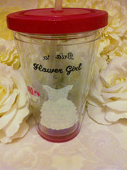 BLUSH FLOWER GIRL TUMBLER