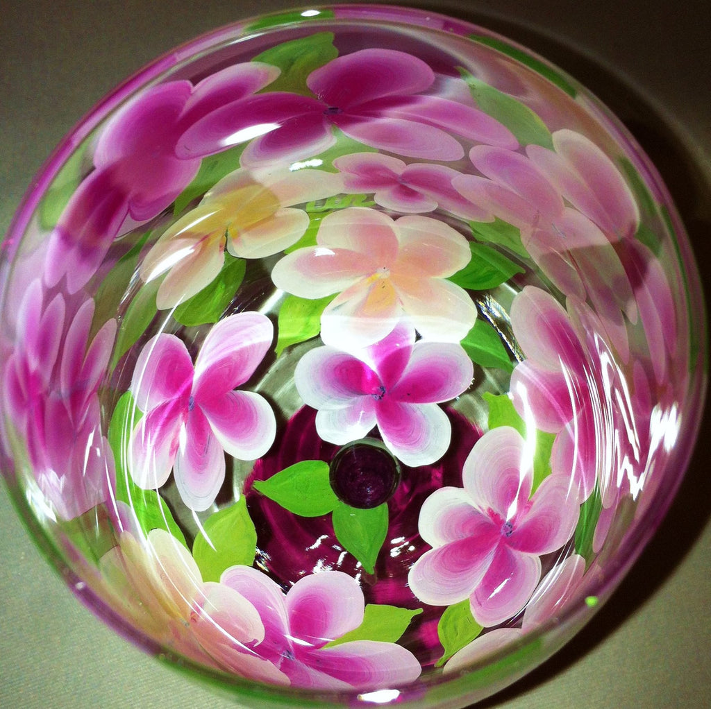 PLUMERIA WINE GLASS