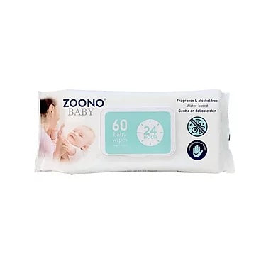 Baby Wipes | 60 Wipes, Multi-Pack