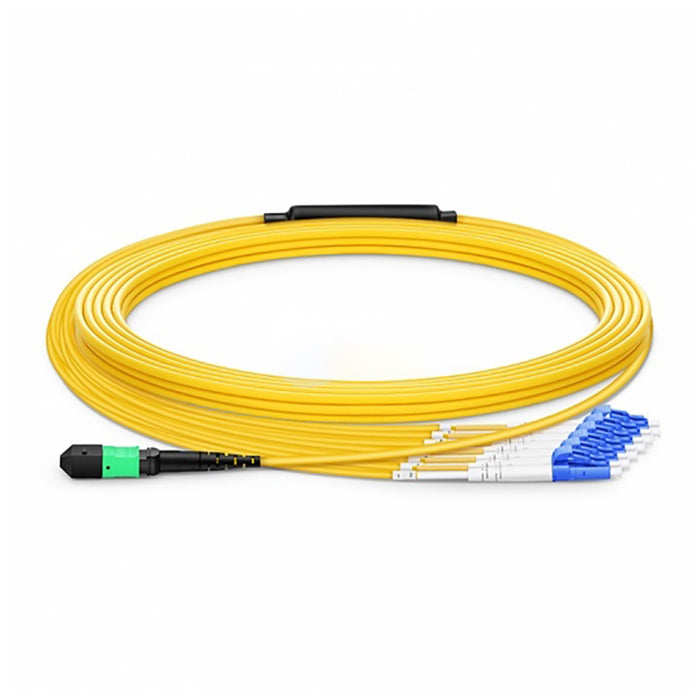 Duplex 12 Fibers 9/125 Singlemode Type A OFNP Breakout Cable