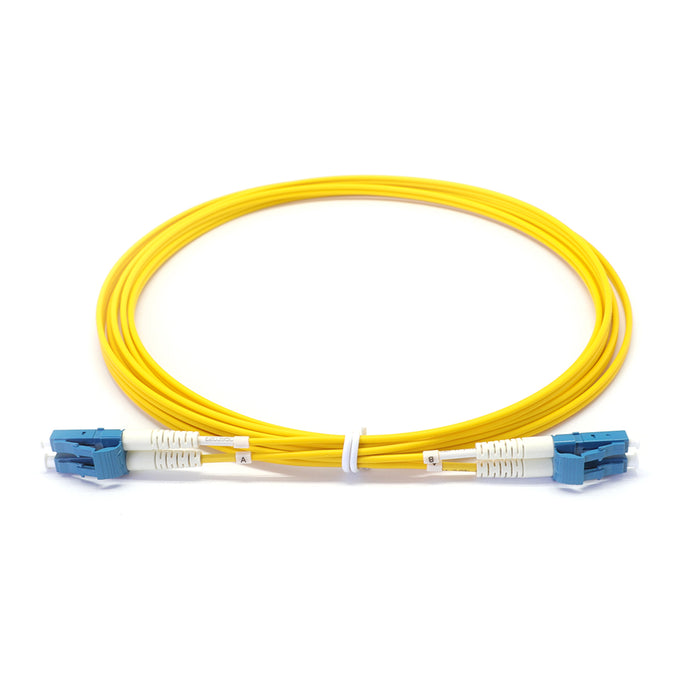 Duplex Singlemode G657A1 3.0*6.0mm Zip-cord Fiber Optic Patch Cable OFNR