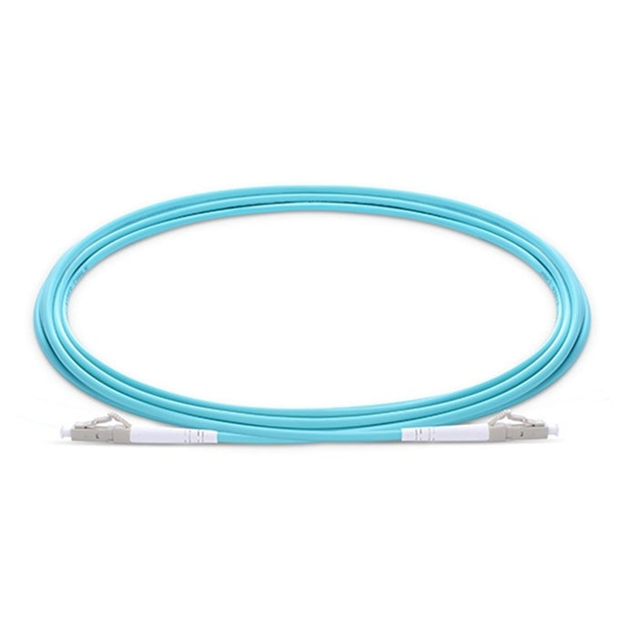 Simplex OM3 Multimode PVC (OFNR) 3.0mm Fiber Optic Patch Cable AQ