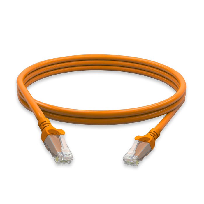 Cat6 molded boot 24 AWG PVC 1FT Ethernet Network