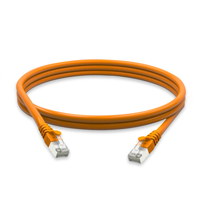 Cat6a molded boot 26 AWG PVC CMX 1FT Ethernet Network