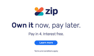 ZIP - Own it now, pay later.