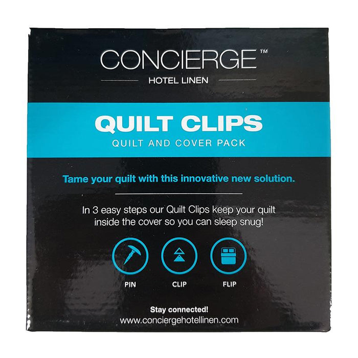 Concierge Quilt Clips Pack