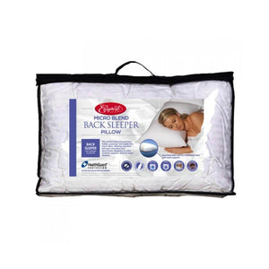 Easyrest Microblend Back Sleeper Pillow - Manchester Factory