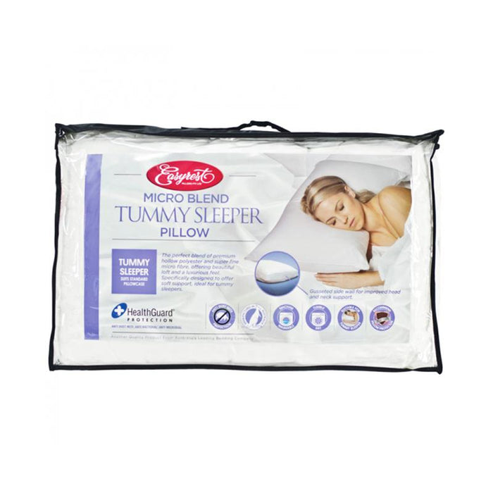 Easyrest Microblend Tummy Sleeper Pillow