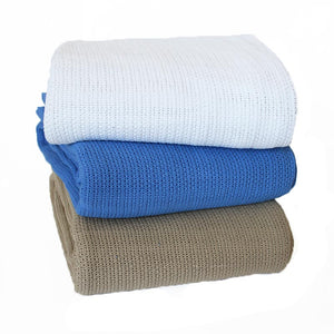 Commercial Cellular Cotton Blanket - Manchester Factory (5426685804588)