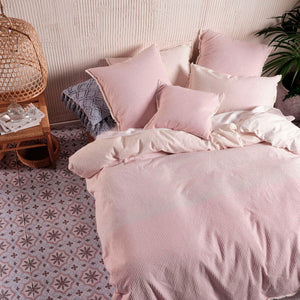 Linen House Lagos Blossom Quilt Cover Set - Manchester Factory