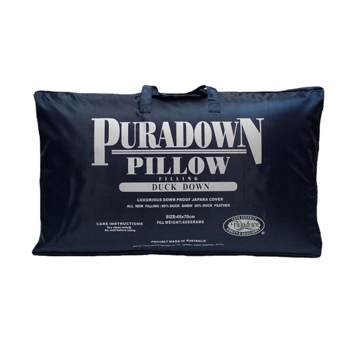 Puradown 80% Duck Down 20% Feather Pillow
