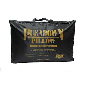 Puradown 80% Goose Down 20% Feather Pillow - Manchester Factory
