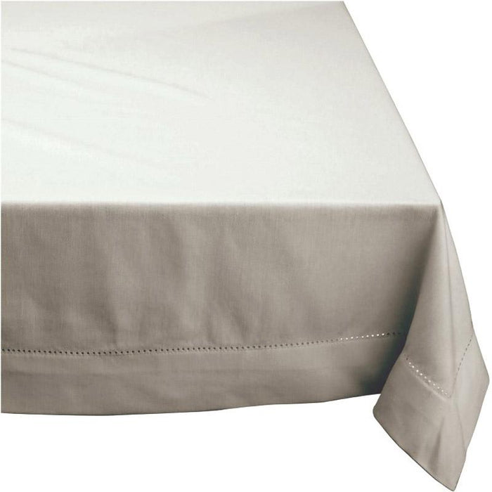 Rans Elegant Hemstitch Oatmeal Tablecloth