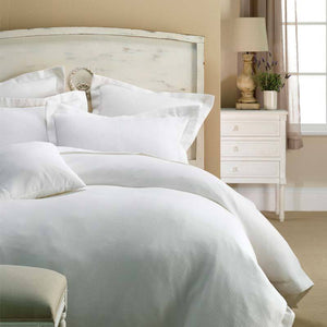 Jenny Mclean Paris Waffle White Quilt Cover Set - Manchester Factory