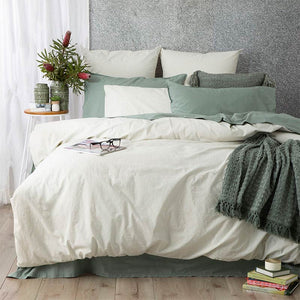 Renee Taylor Portifino Forest Quilt Cover Set - Manchester Factory (5445444665388)