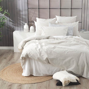 Renee Taylor Portifino Moon Mist Quilt Cover Set - Manchester Factory (5445445124140)