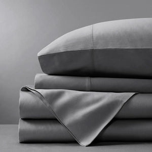 Sienna Living 1000 Thread Count Egyptian Cotton Flat Sheet and Pillowcase Set - Manchester Factory