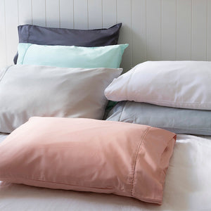 Sienna Living Bamboo Cotton 400 Thread Count Pillowcase Pair - Manchester Factory (5088058933292)