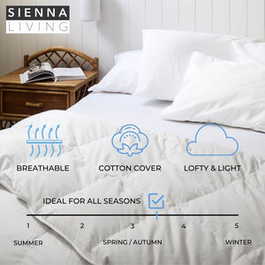 Sienna Living 50% Duck Down 50% Duck Feather Quilt (4966969180204)